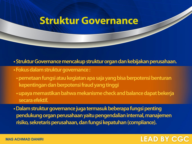 Struktur Governance