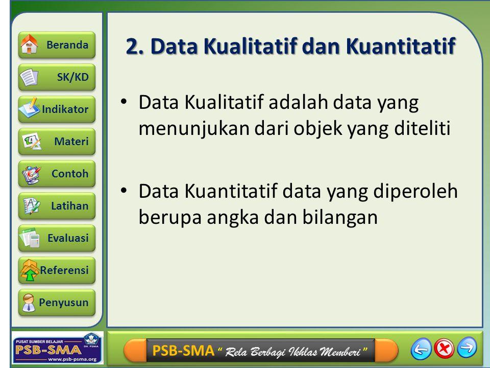 2. Data Kualitatif dan Kuantitatif