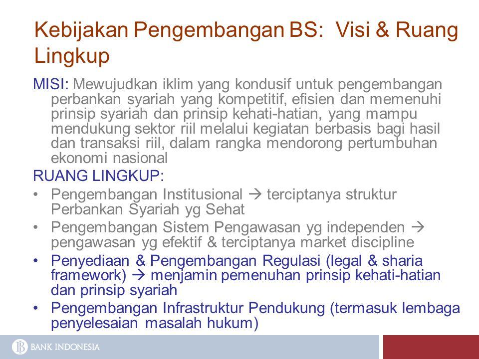 Kebijakan Pengembangan BS: Visi & Ruang Lingkup