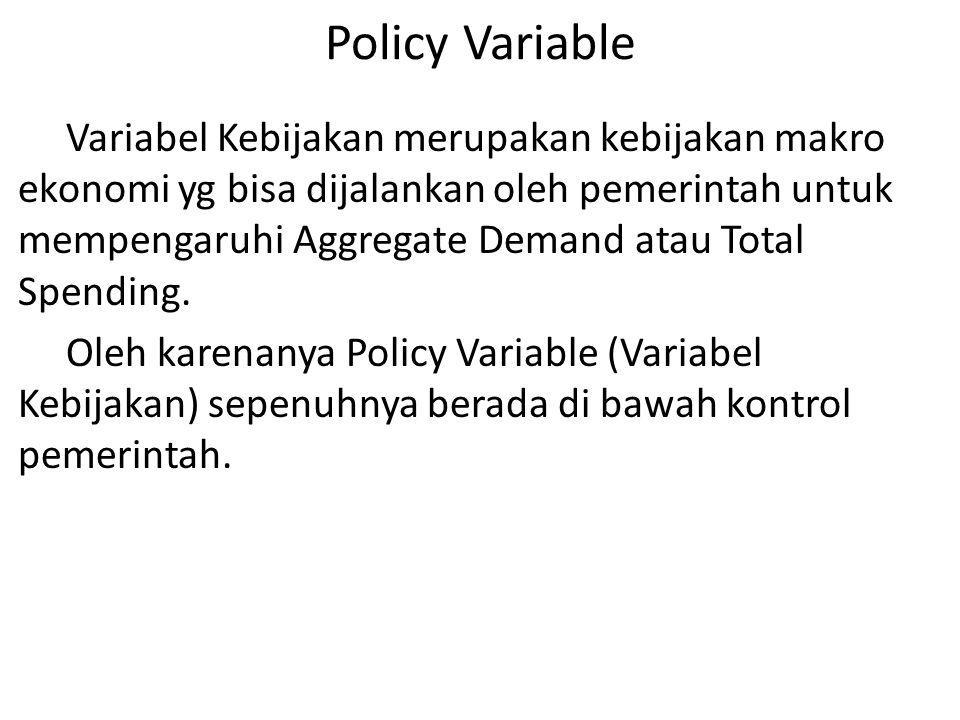 Policy Variable