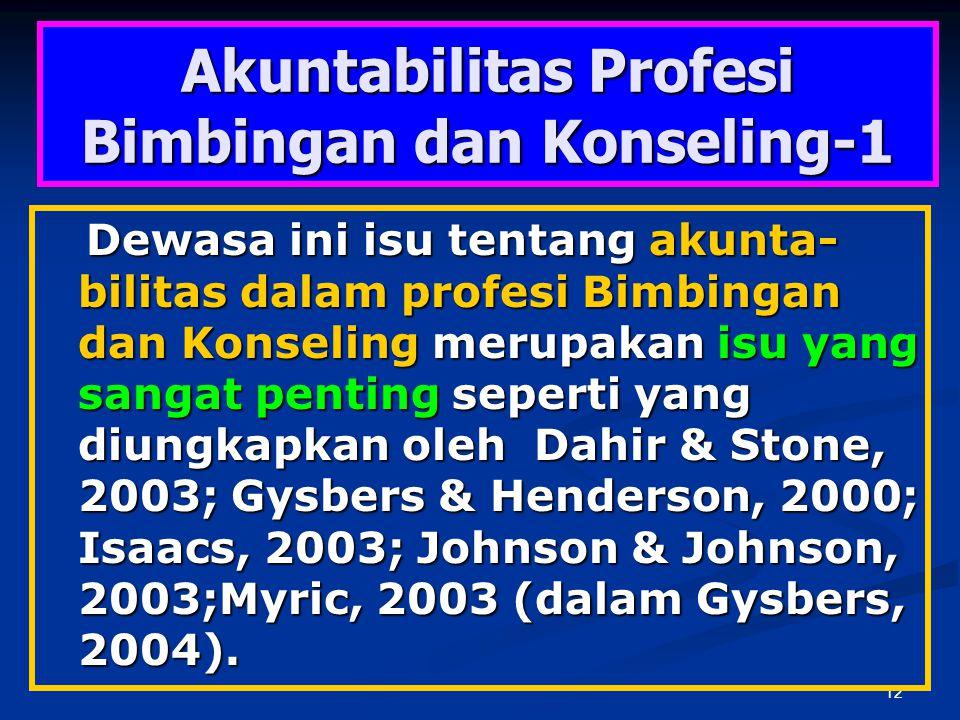 Akuntabilitas Profesi Bimbingan dan Konseling-1