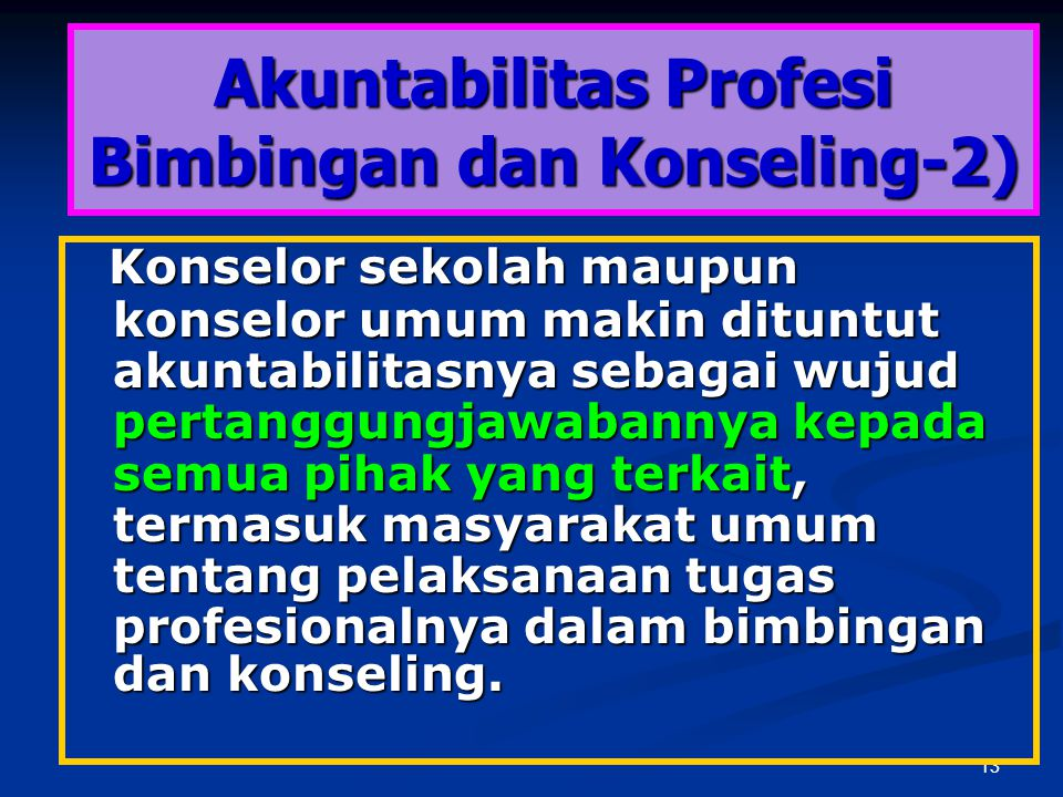 Akuntabilitas Profesi Bimbingan dan Konseling-2)