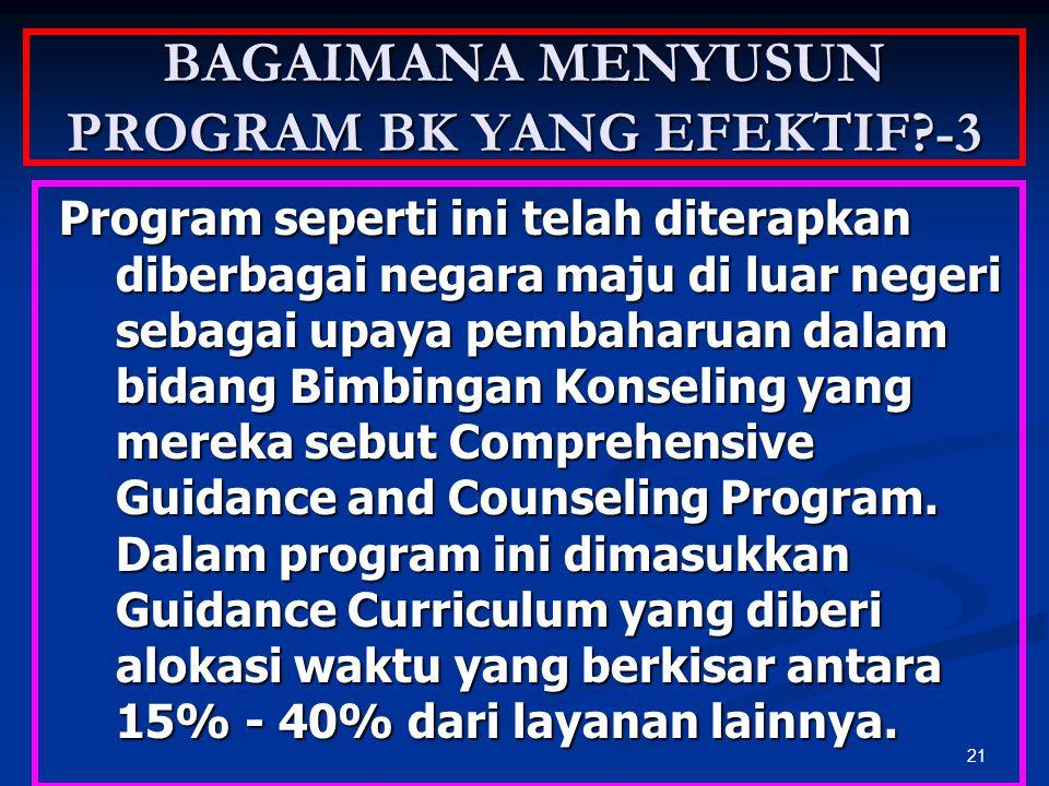BAGAIMANA MENYUSUN PROGRAM BK YANG EFEKTIF -3