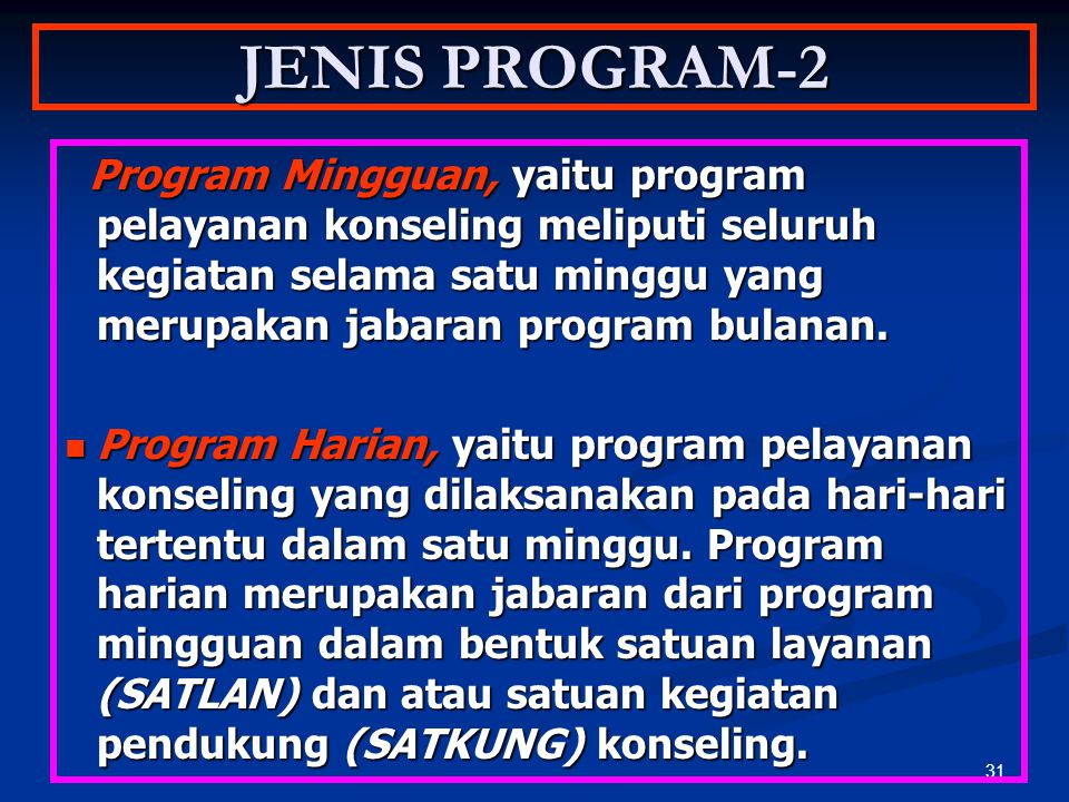 JENIS PROGRAM-2