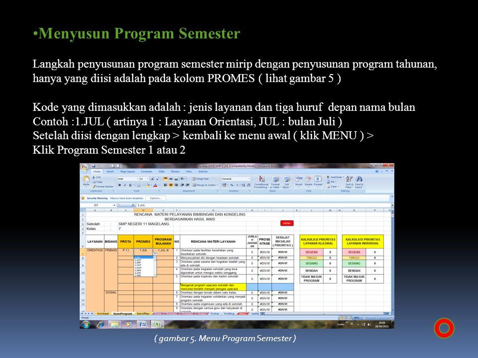 Menyusun Program Semester