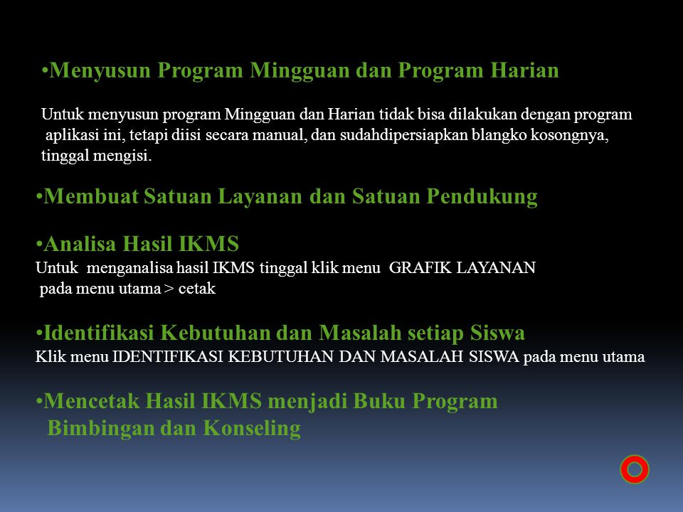 Menyusun Program Mingguan dan Program Harian