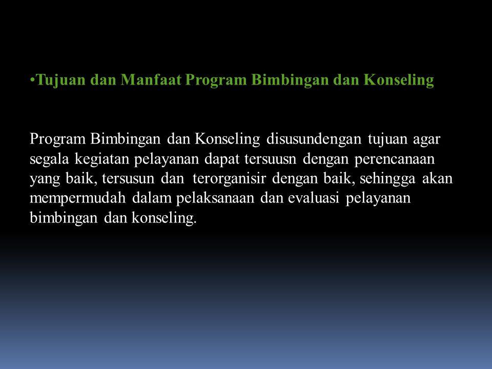 Tujuan dan Manfaat Program Bimbingan dan Konseling