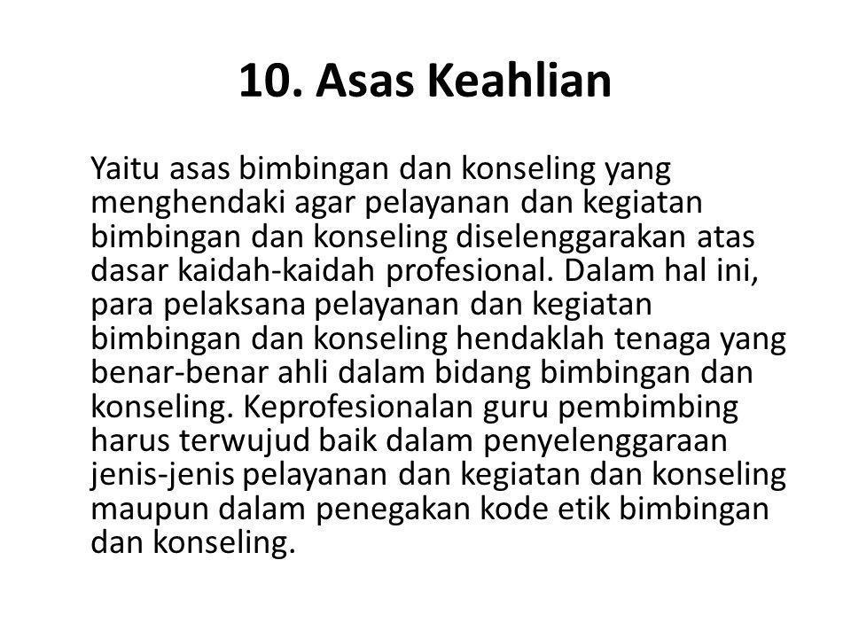 10. Asas Keahlian