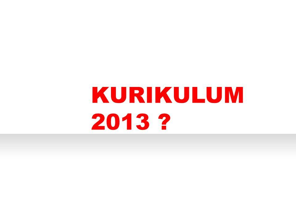 PERTANYAAN APA KURIKULUM 2013