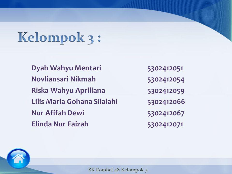 Kelompok 3 :