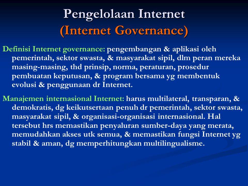 Pengelolaan Internet (Internet Governance)
