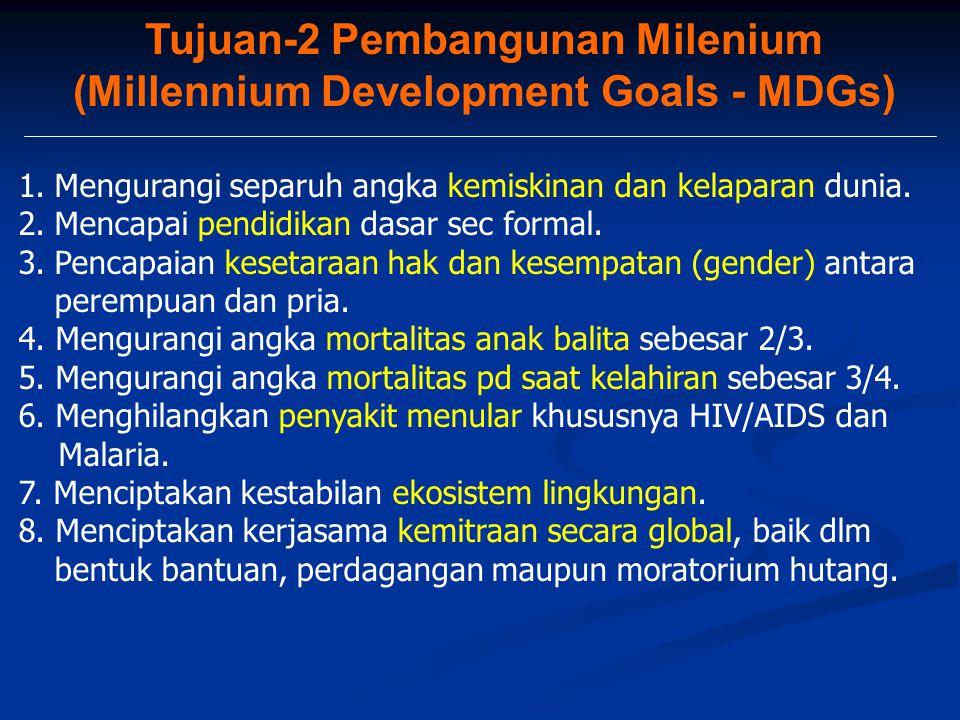 Tujuan-2 Pembangunan Milenium (Millennium Development Goals - MDGs)