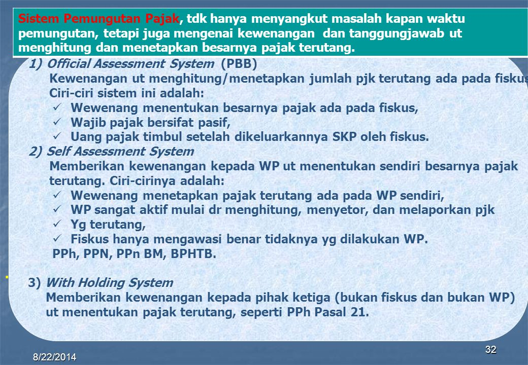 Official Assessment System (PBB)