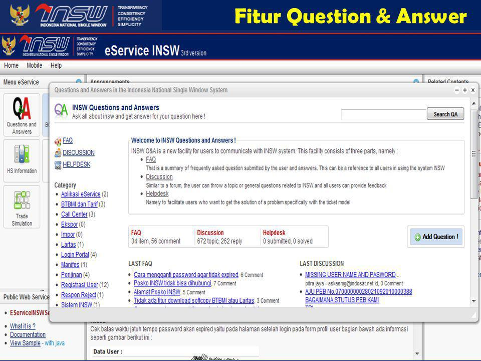 Fitur Question & Answer