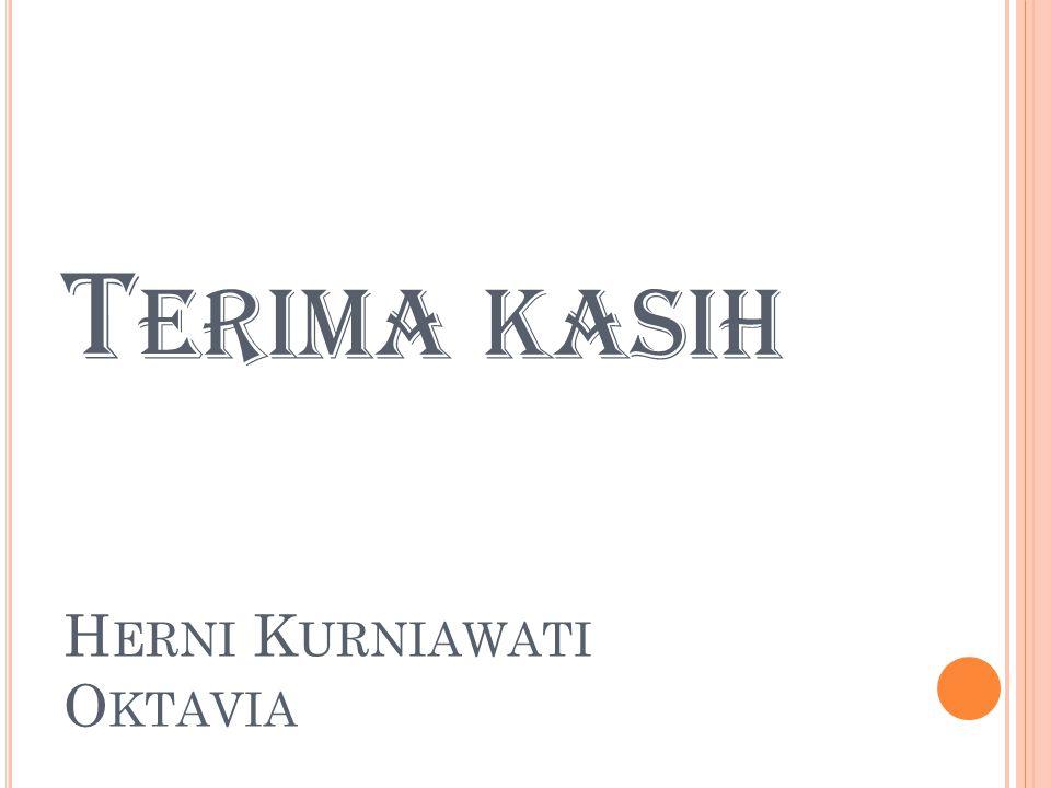 Terima kasih Herni Kurniawati Oktavia