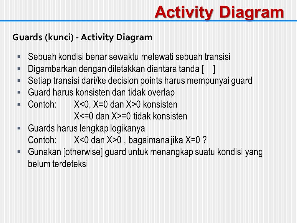 Activity Diagram Guards (kunci) - Activity Diagram