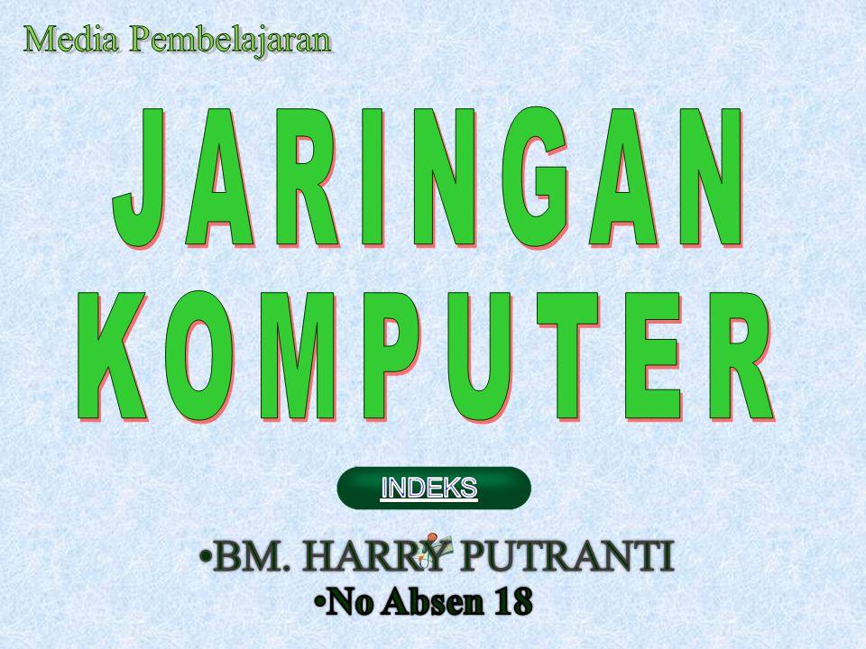 Kls 9/2 Media Pembelajaran JARINGAN KOMPUTER BM. HARRY PUTRANTI