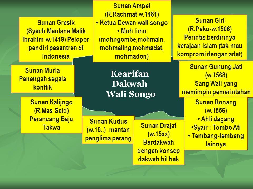 Kearifan Dakwah Wali Songo