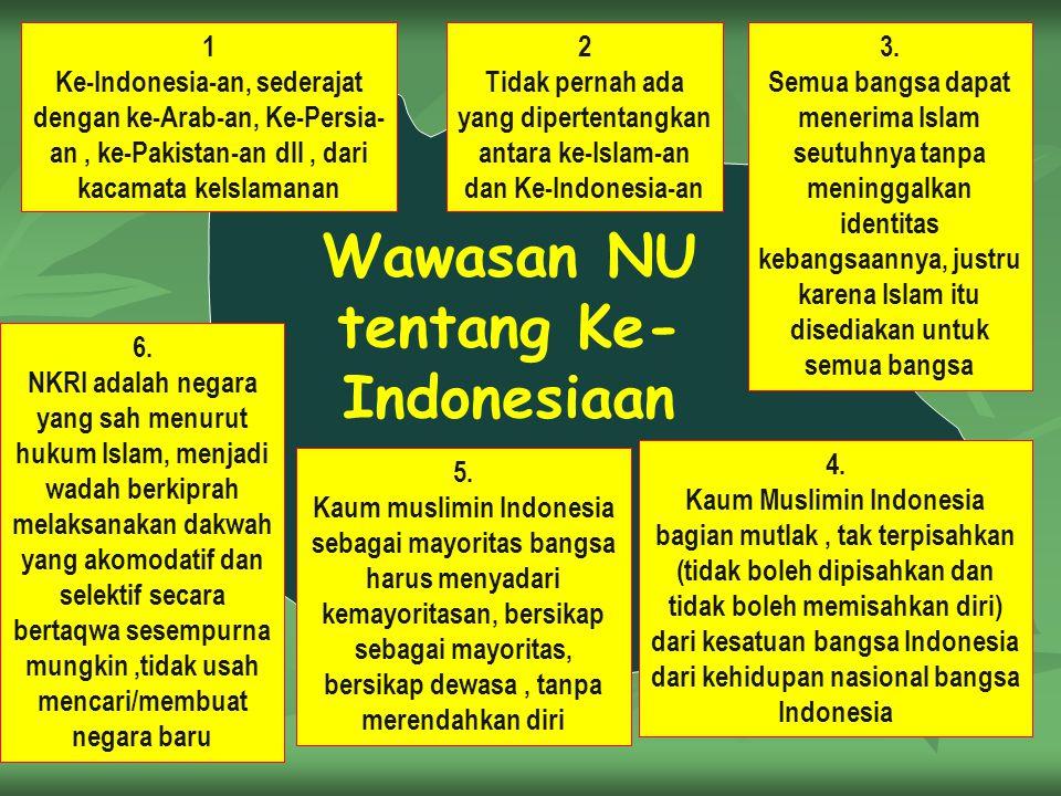 Wawasan NU tentang Ke-Indonesiaan