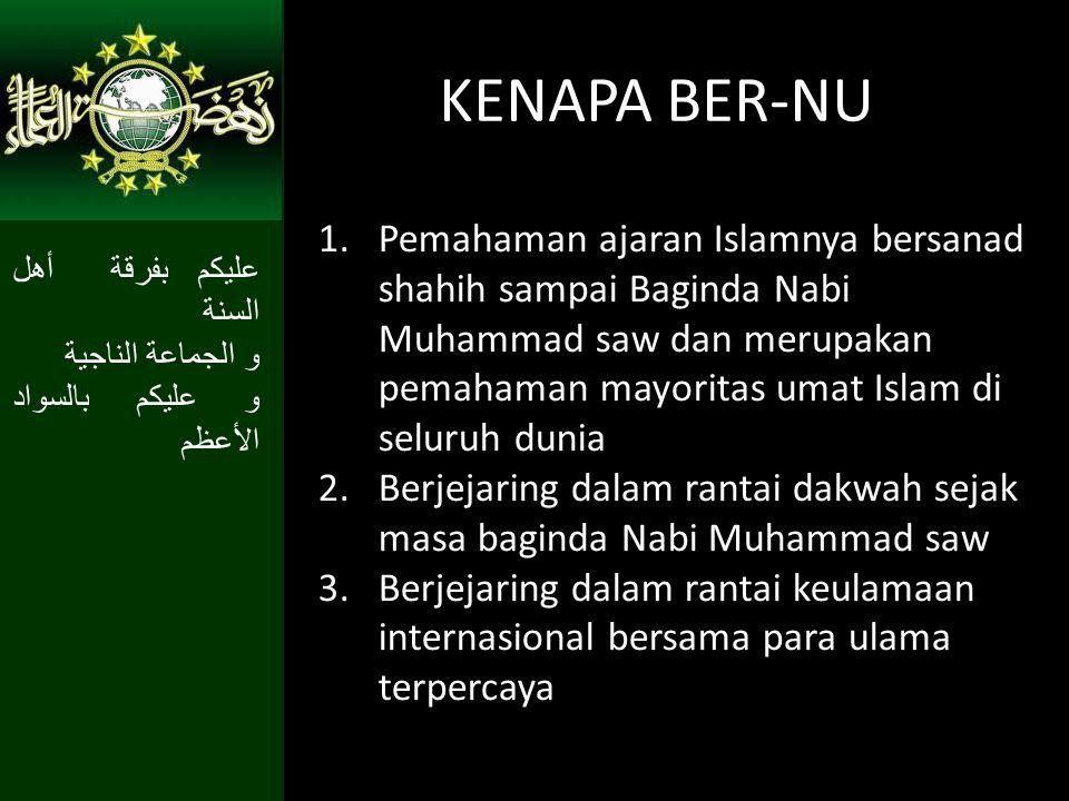 KENAPA BER-NU