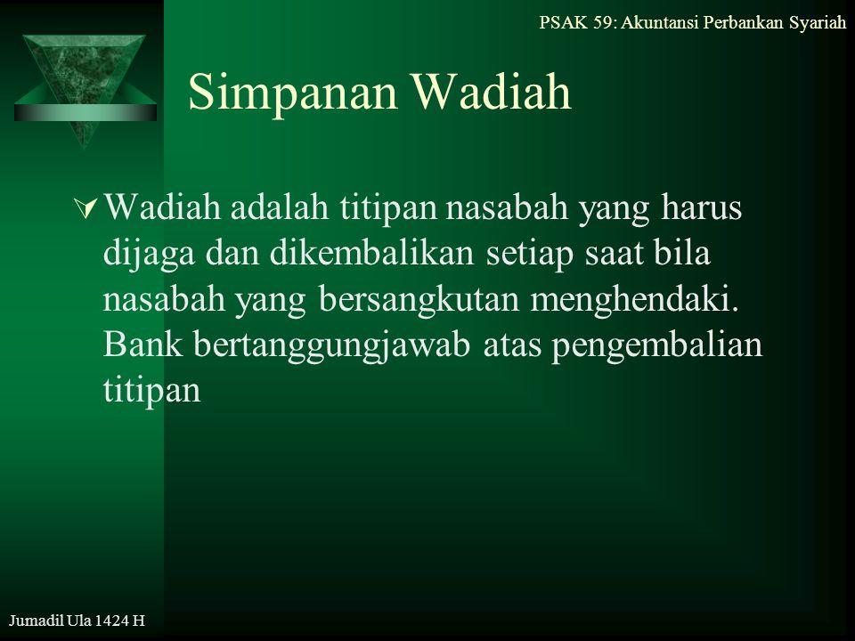Simpanan Wadiah