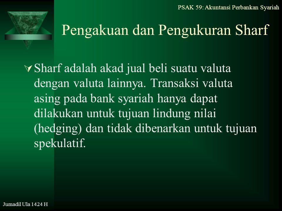 Pengakuan dan Pengukuran Sharf