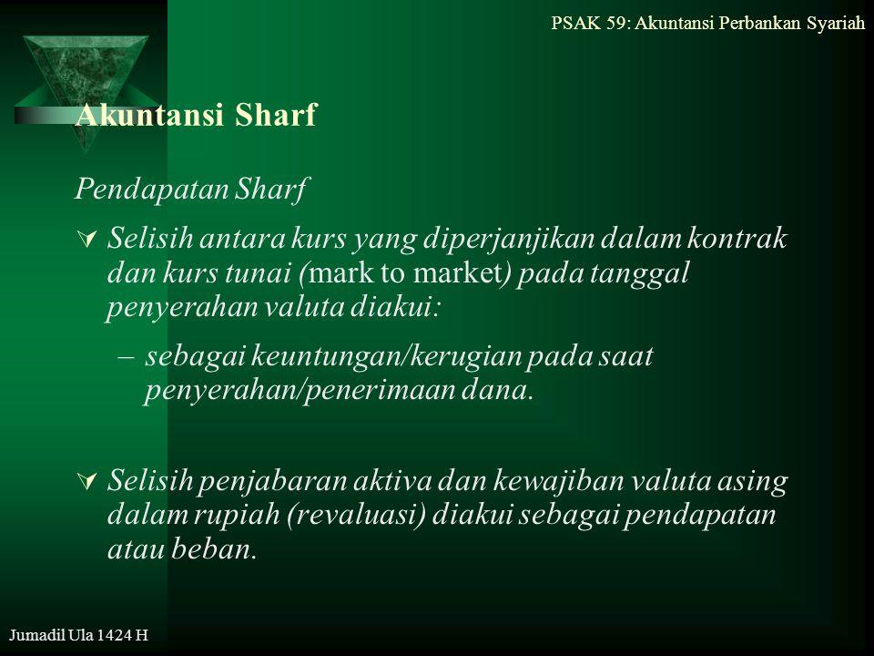 Akuntansi Sharf Pendapatan Sharf