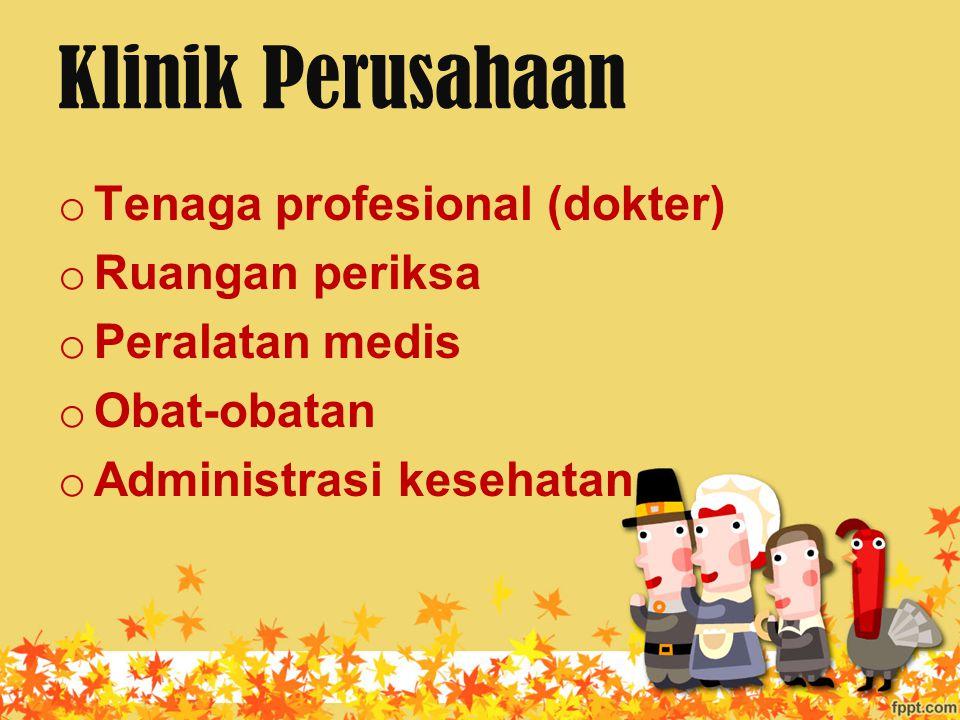 Klinik Perusahaan Tenaga profesional (dokter) Ruangan periksa