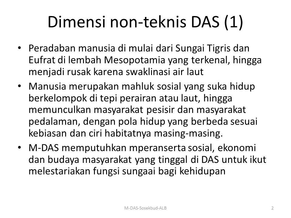 Dimensi non-teknis DAS (1)