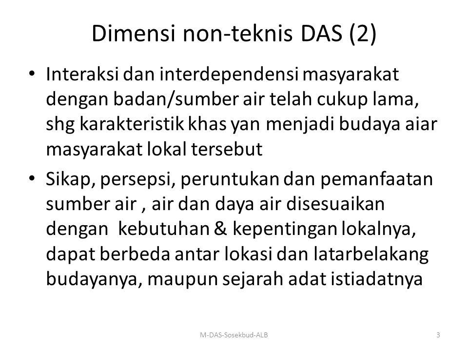 Dimensi non-teknis DAS (2)