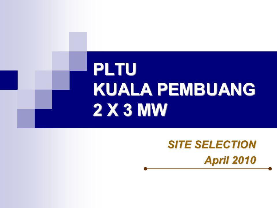 PLTU KUALA PEMBUANG 2 X 3 MW
