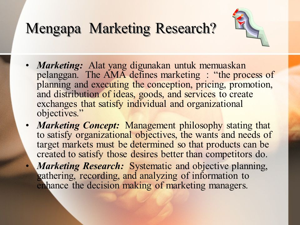 Mengapa Marketing Research