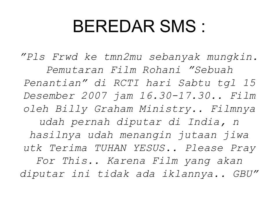 BEREDAR SMS :