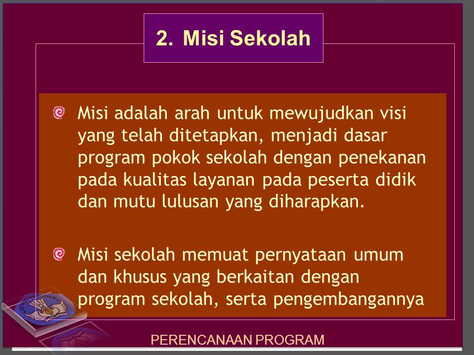 2. Misi Sekolah