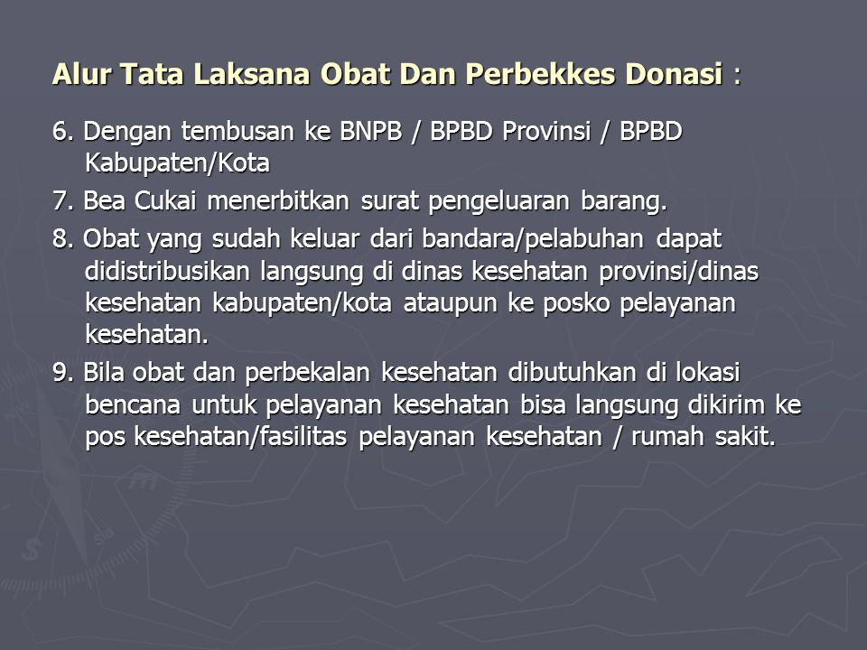 Alur Tata Laksana Obat Dan Perbekkes Donasi :