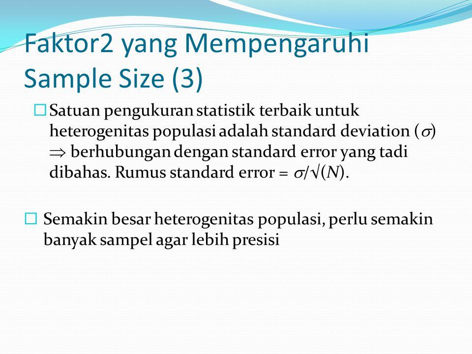 Faktor2 yang Mempengaruhi Sample Size (3)