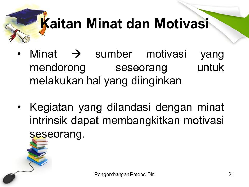 Kaitan Minat dan Motivasi
