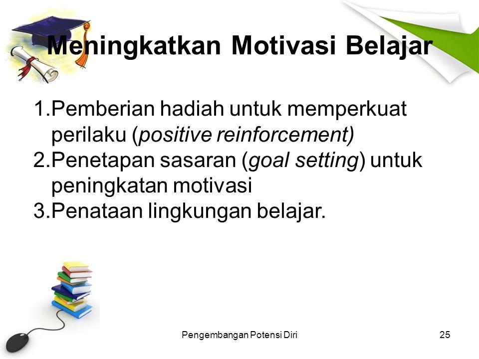 Meningkatkan Motivasi Belajar