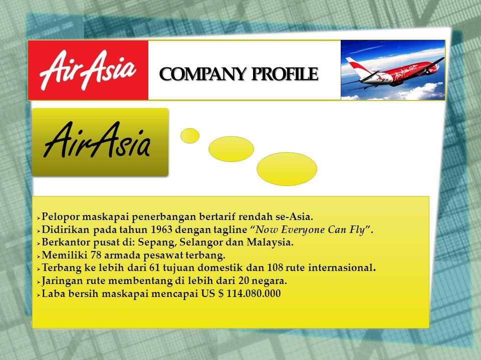 AirAsia COMPANY PROFILE