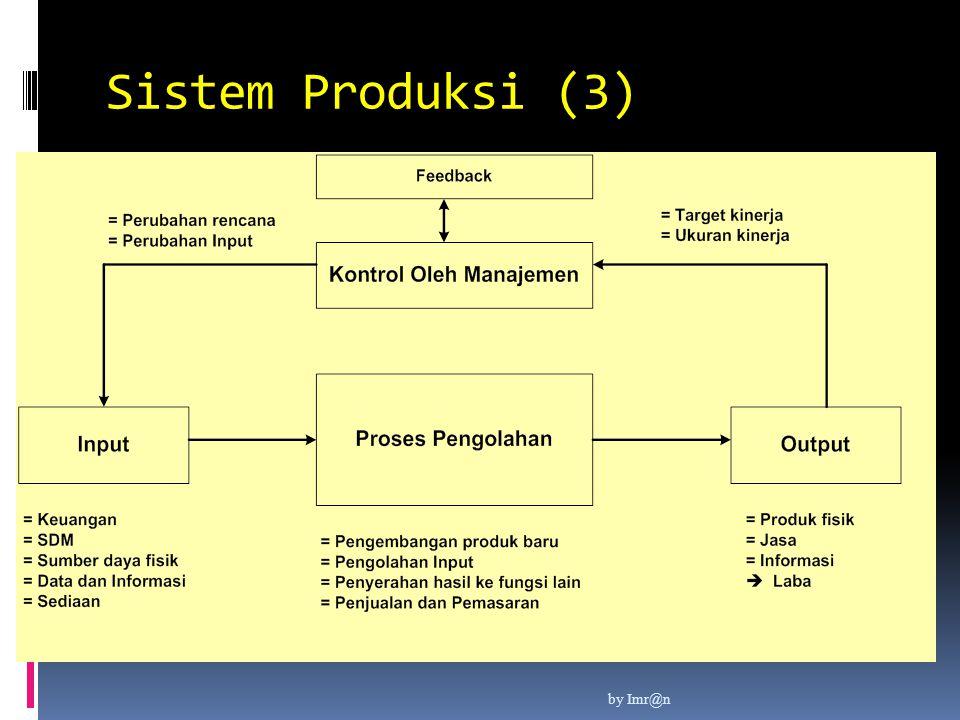 Sistem Produksi (3) by Imr@n