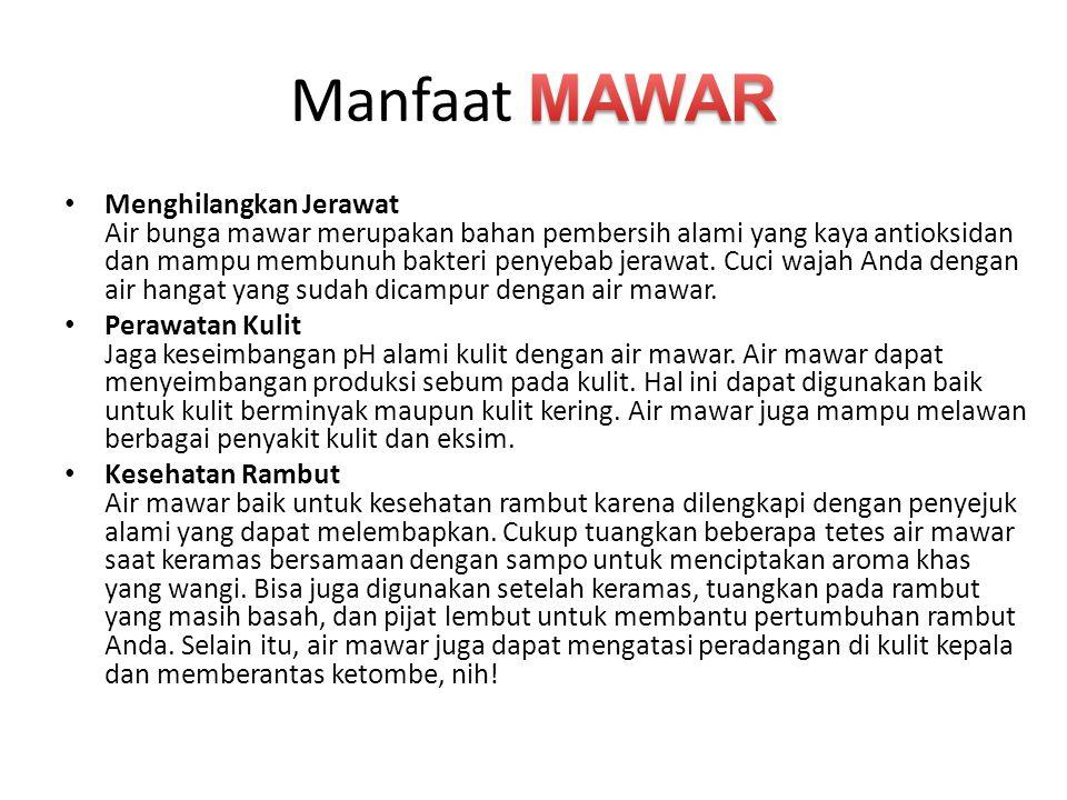Manfaat MAWAR