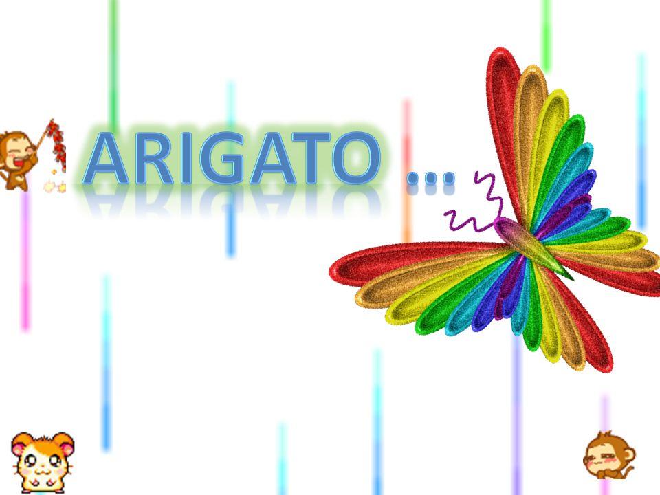 Arigato …