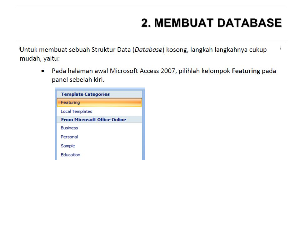 2. MEMBUAT DATABASE 10