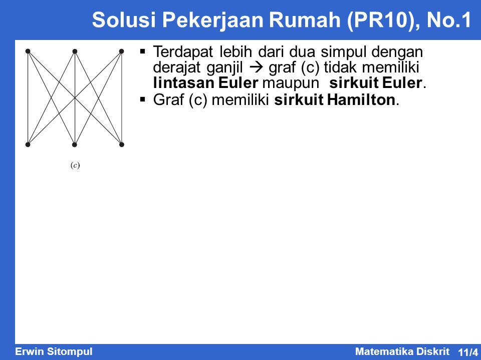 Solusi Pekerjaan Rumah (PR10), No.1