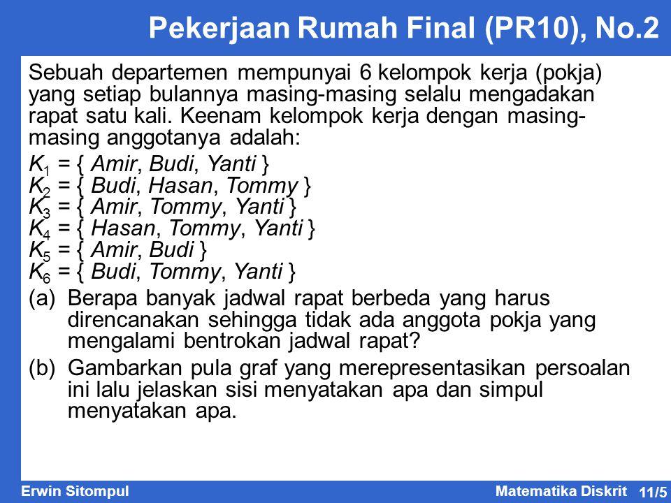 Pekerjaan Rumah Final (PR10), No.2