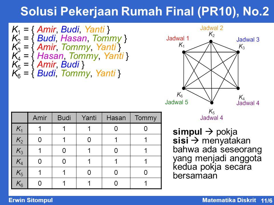 Solusi Pekerjaan Rumah Final (PR10), No.2