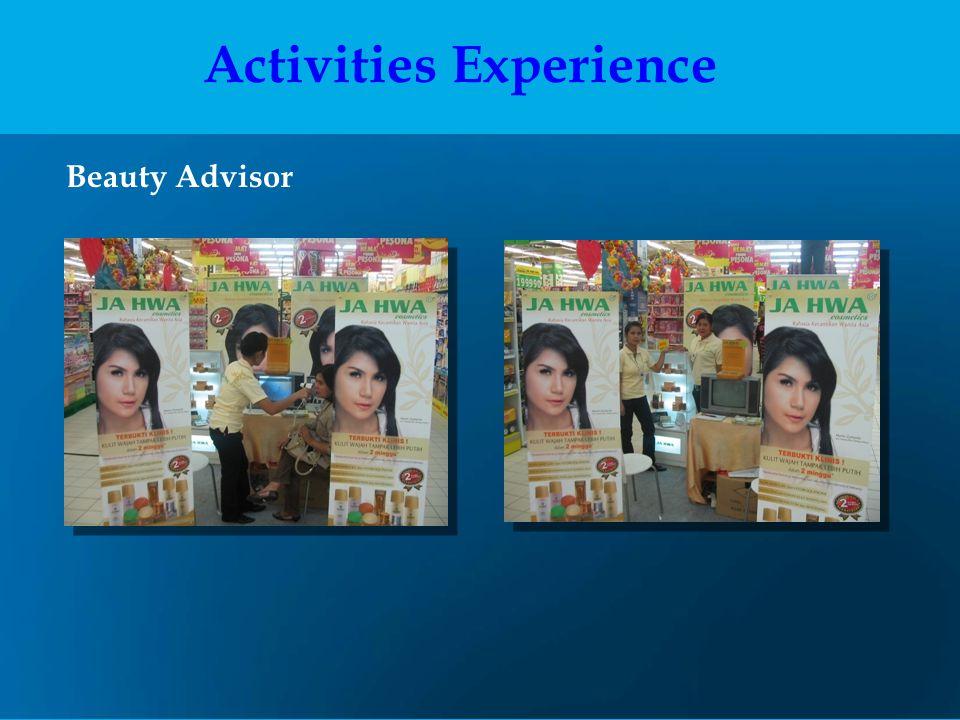Activities Experience
