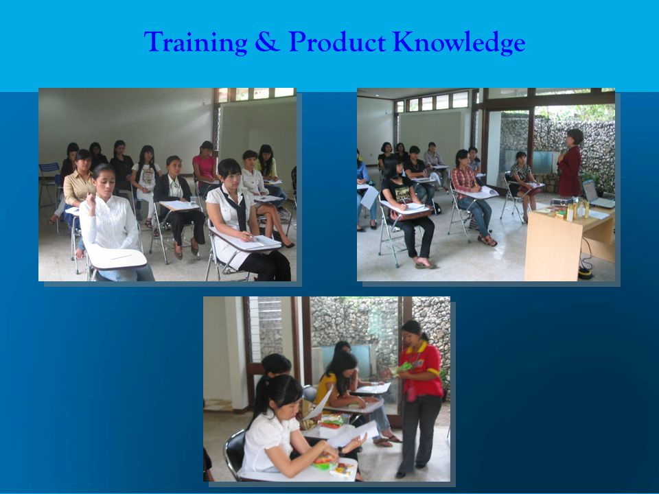 Training & Product Knowledge