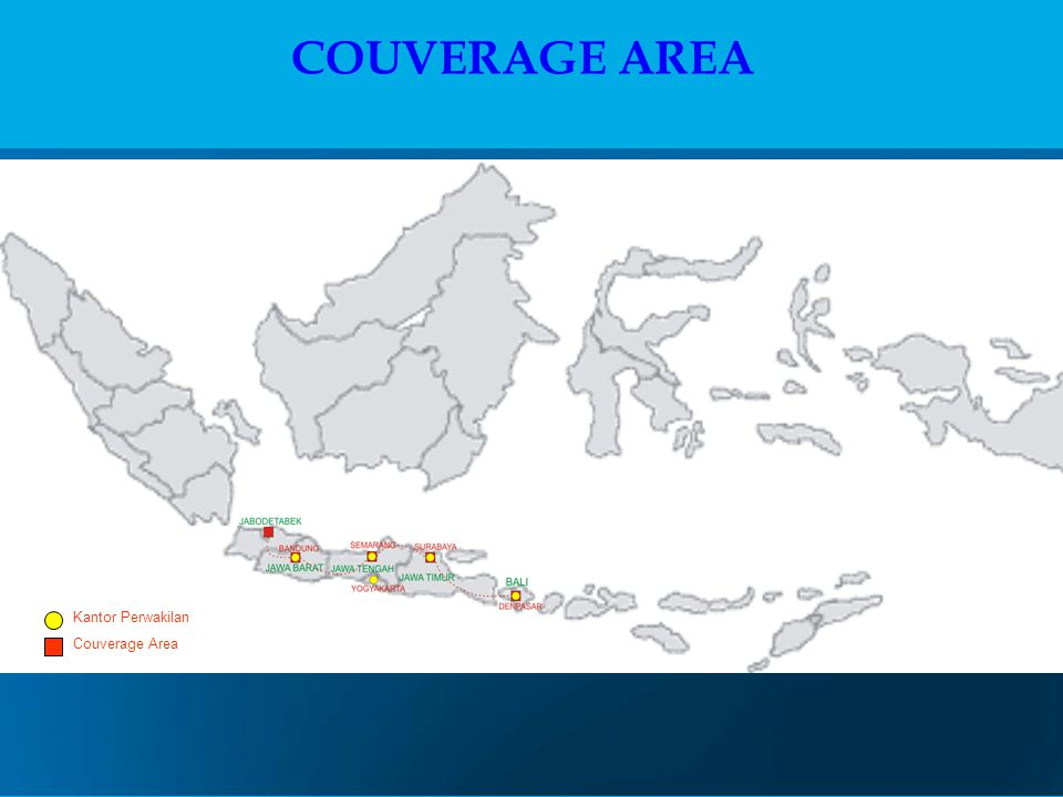 COUVERAGE AREA Kantor Perwakilan Couverage Area