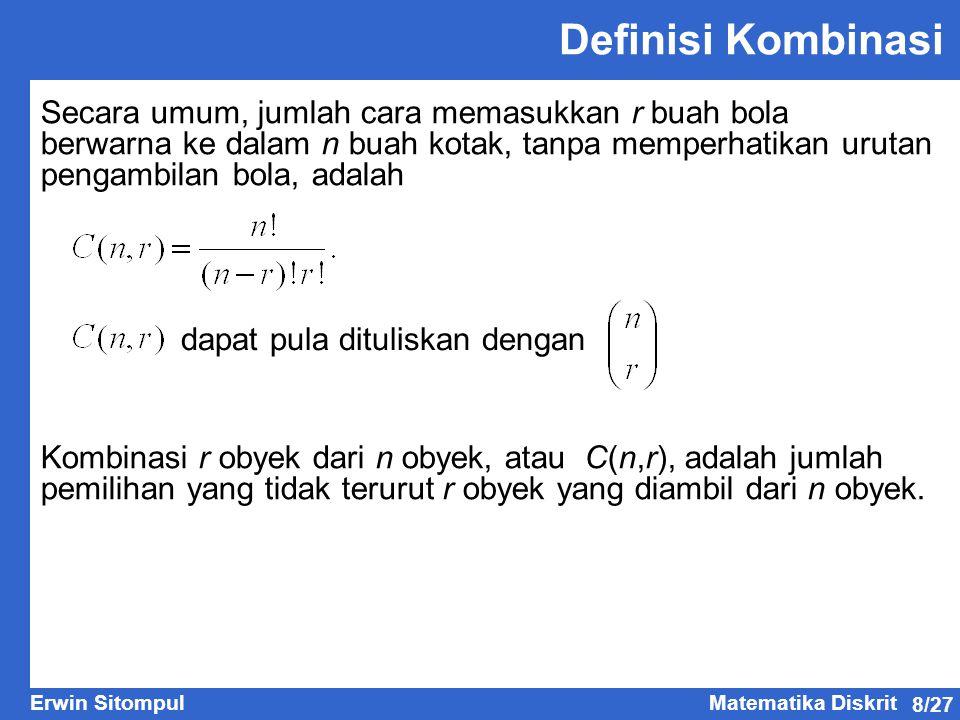 Definisi Kombinasi